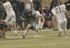 A tackle is made in the Norman North and Southmoore game on Friday, Oct. 7, 2016 in week 6 of highschool football (KOKH) .PNG