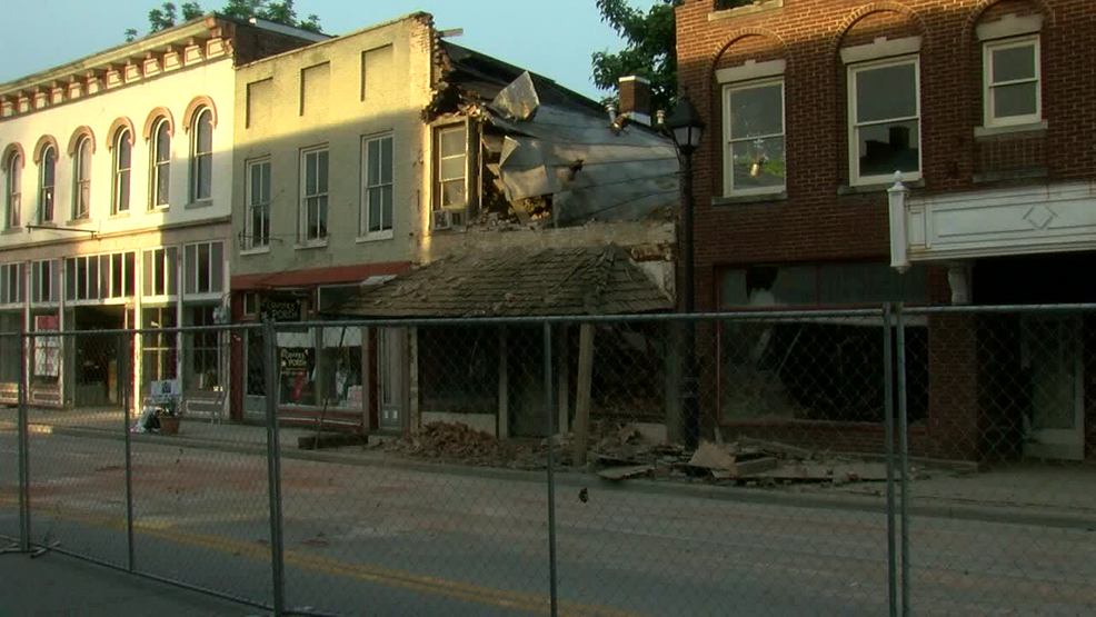 Us 52 In Ripley Reopens After Partial Hotel Collapse