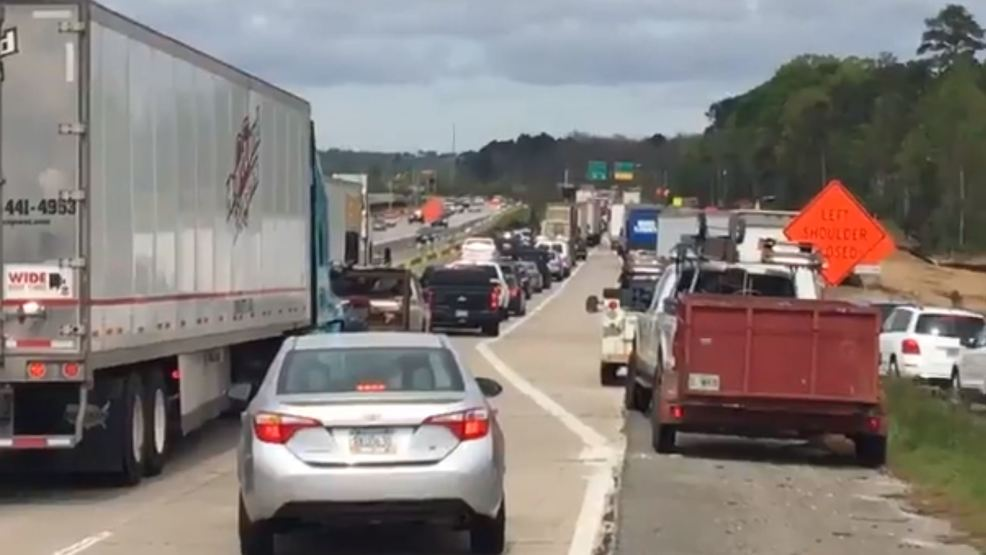 Crash at I-75/I-16 split backs up traffic, cleared | WGXA