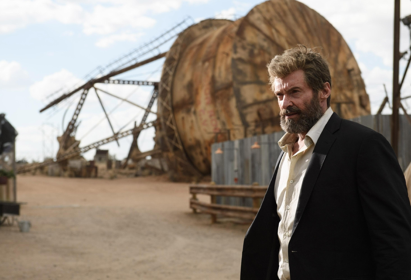 Hugh Jackman stars as Logan/Wolverine in LOGAN. Photo Credit: Ben Rothstein.