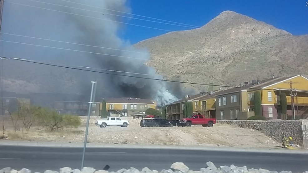Fire at an apartment complex in central el paso kfox for Gutierrez motors el paso texas