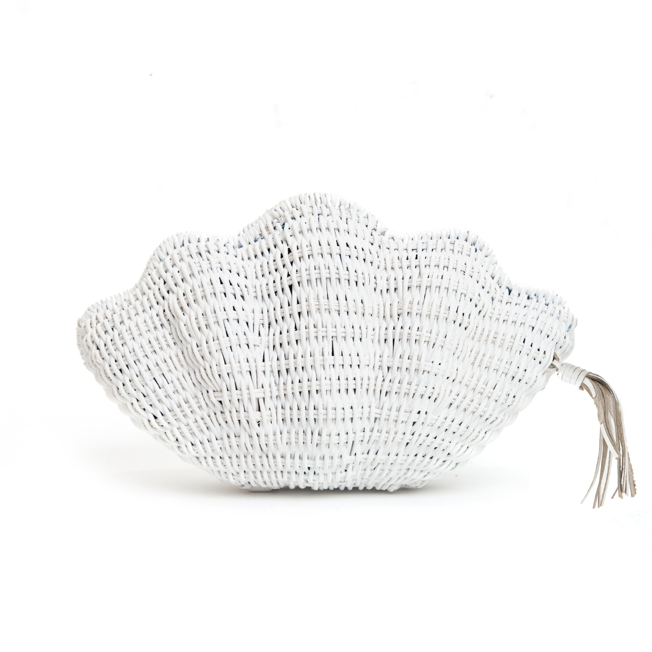 Kayu White Jane Straw Clutch, $185, tuckernuck.com (Image: Courtesy Tuckernuck)