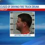Firefighter accused of driving drunk while on emergency call