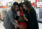 SHARE THE JOY: Tiffany nominated to receive Big Lots gift card
