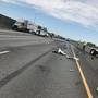 Pasco driver flown to Harborview after head-on collision with semi shuts down I-182