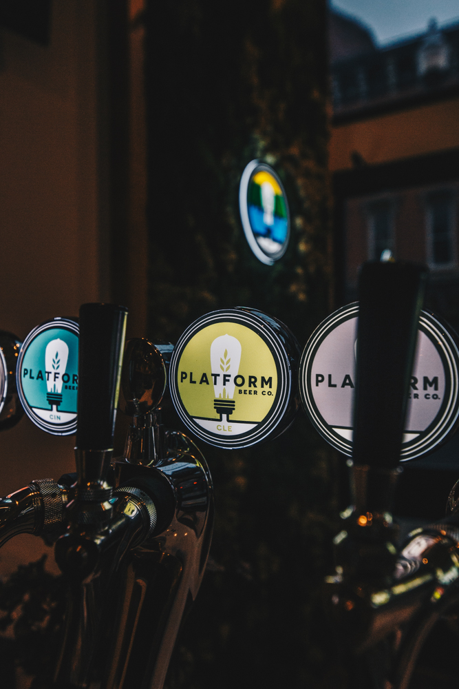LOCOBA offers all sorts of Platform beer on tap and in cans, along with wine and cocktails. / Image: Catherine Viox // Published: 3.5.19