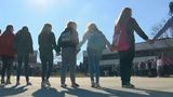 Hundreds of QHS students walkout, remember Parkland victims