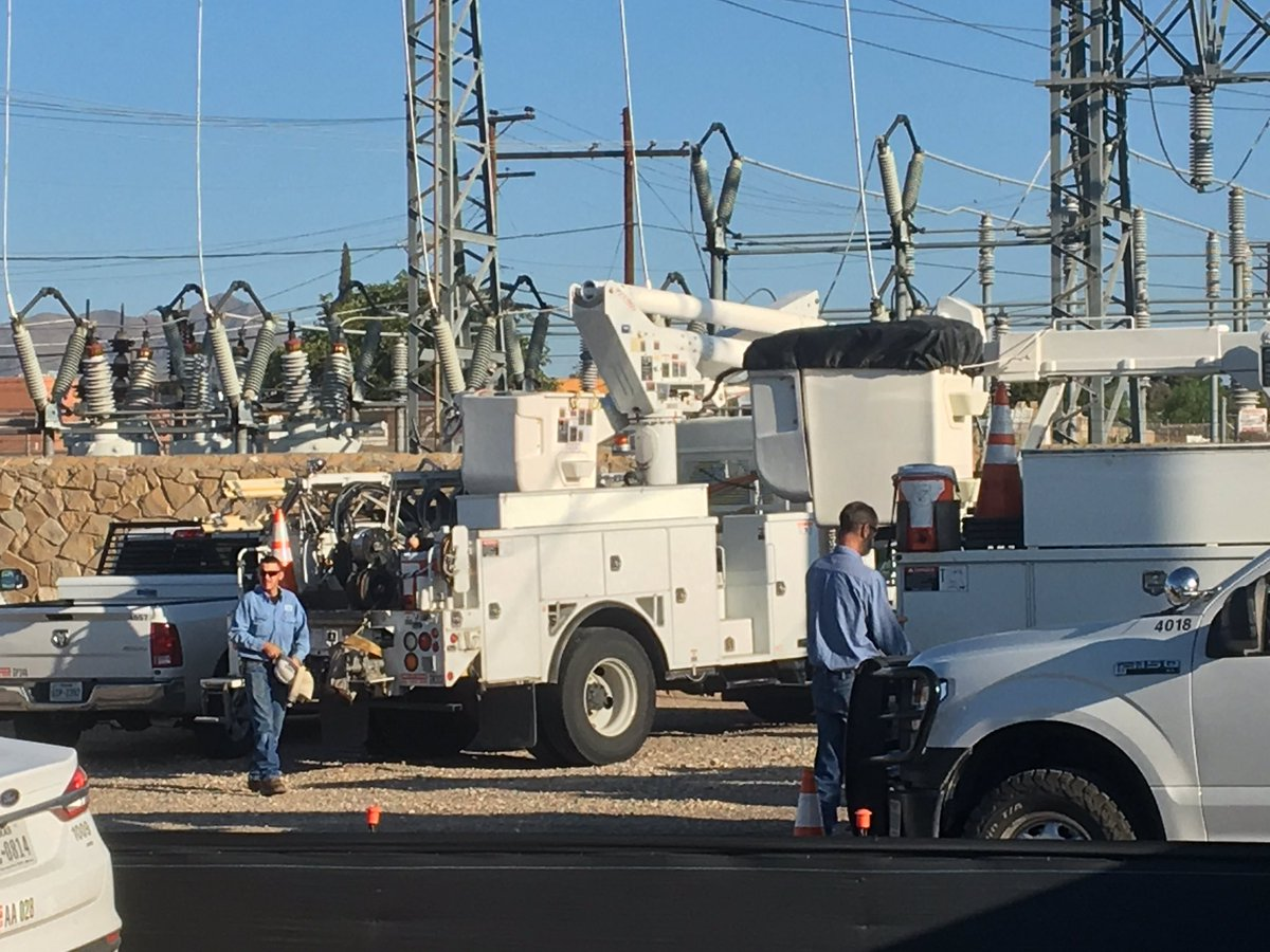 El Paso Electric crews working on restoring power