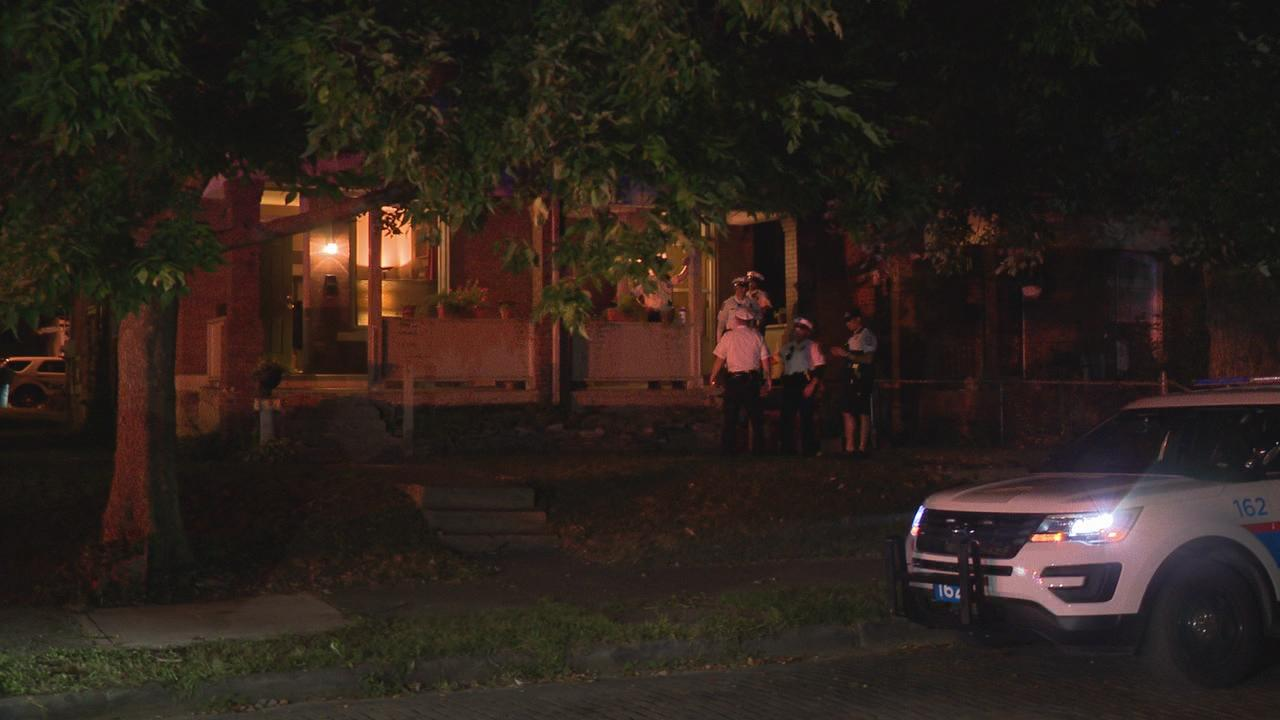 One person was killed in a shooting on Stoddart Avenue in east Columbus Monday night Aug. 12, 2019.{&nbsp;} (WSYX/WTTE)<p></p>