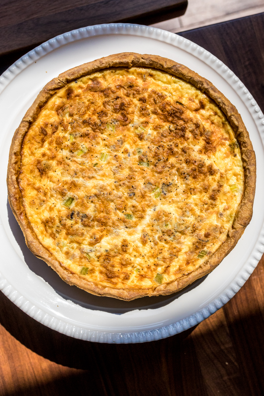 Quiche / Image: Catherine Viox{ }// Published: 9.16.20