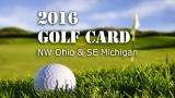 2016 NBC 24 Golf Card