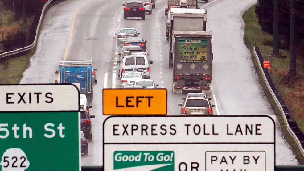Gov. Inslee says state won't eliminate I-405 tolling