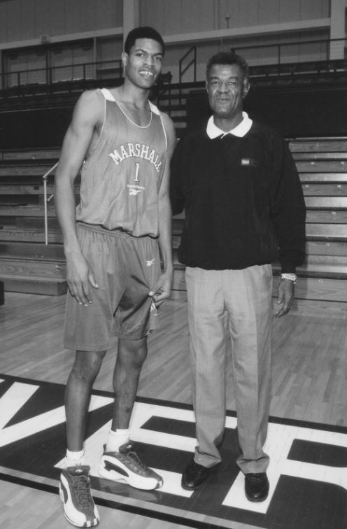 During his career at Marshall, Hal Greer took the court 71 times for the Thundering Herd. (Marshall University Athletics)
