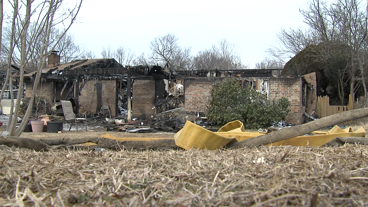 The fire was so intense firefighters couldn't immediately enter and search the home.   According to the fire department, firefighters found the victim -- 55-year-old Shelly Mayor -- near an exit at the back of the house. (KTUL)<p></p>