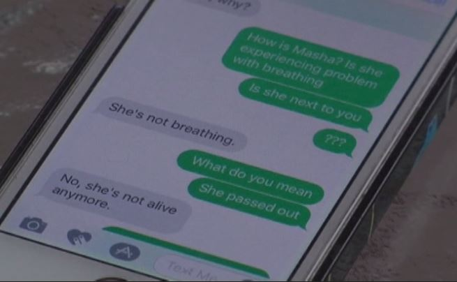 Washington parents receive prank text that daughter is dead during school shooting (KXLY via CNN Newsource)