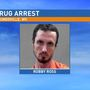 Man arrested for selling drugs at a Moundsville gas station