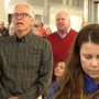 Heated crowd attends Congressman Bergman town hall