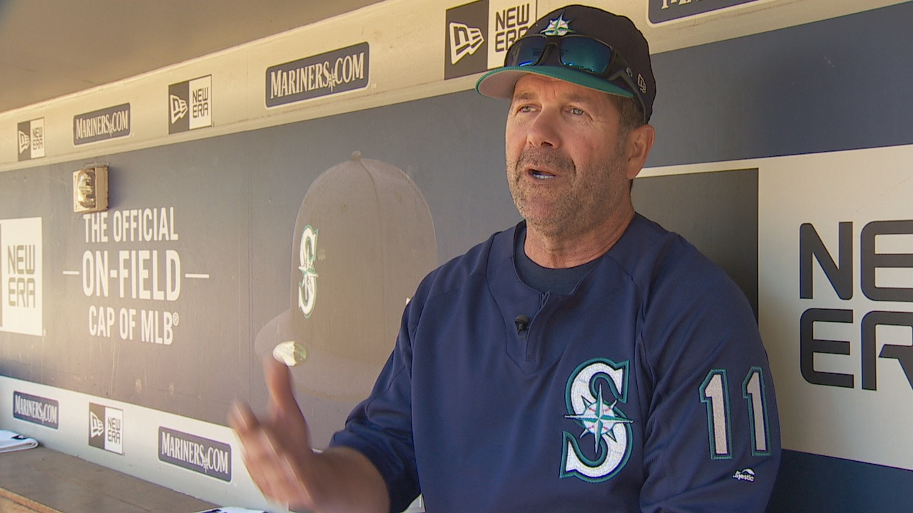 On Saturday, the Seattle Mariners will retire the jersey of former designated hitter and current hitting coach Edgar Martinez. (Photo: KOMO News)