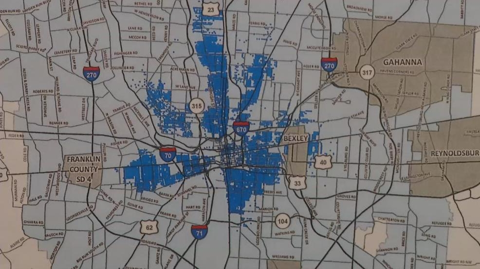 Interactive map shows residents where lead service lines exist in