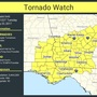 Tornado Watch issued for South Georgia until 6 p.m.