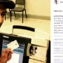 Justin Timberlake snaps a selfie while voting
