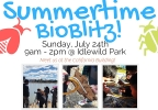 The first Summertime BioBlitz was held at Idlewild Park in Reno on Sunday, July 24, 2016. (Photo courtesy: Truckee Meadows Parks Foundation)