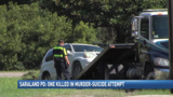Murder-suicide attempt leaves gunman dead, victim in critical condition