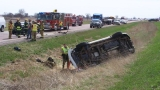 Highway 75 accident backs up traffic