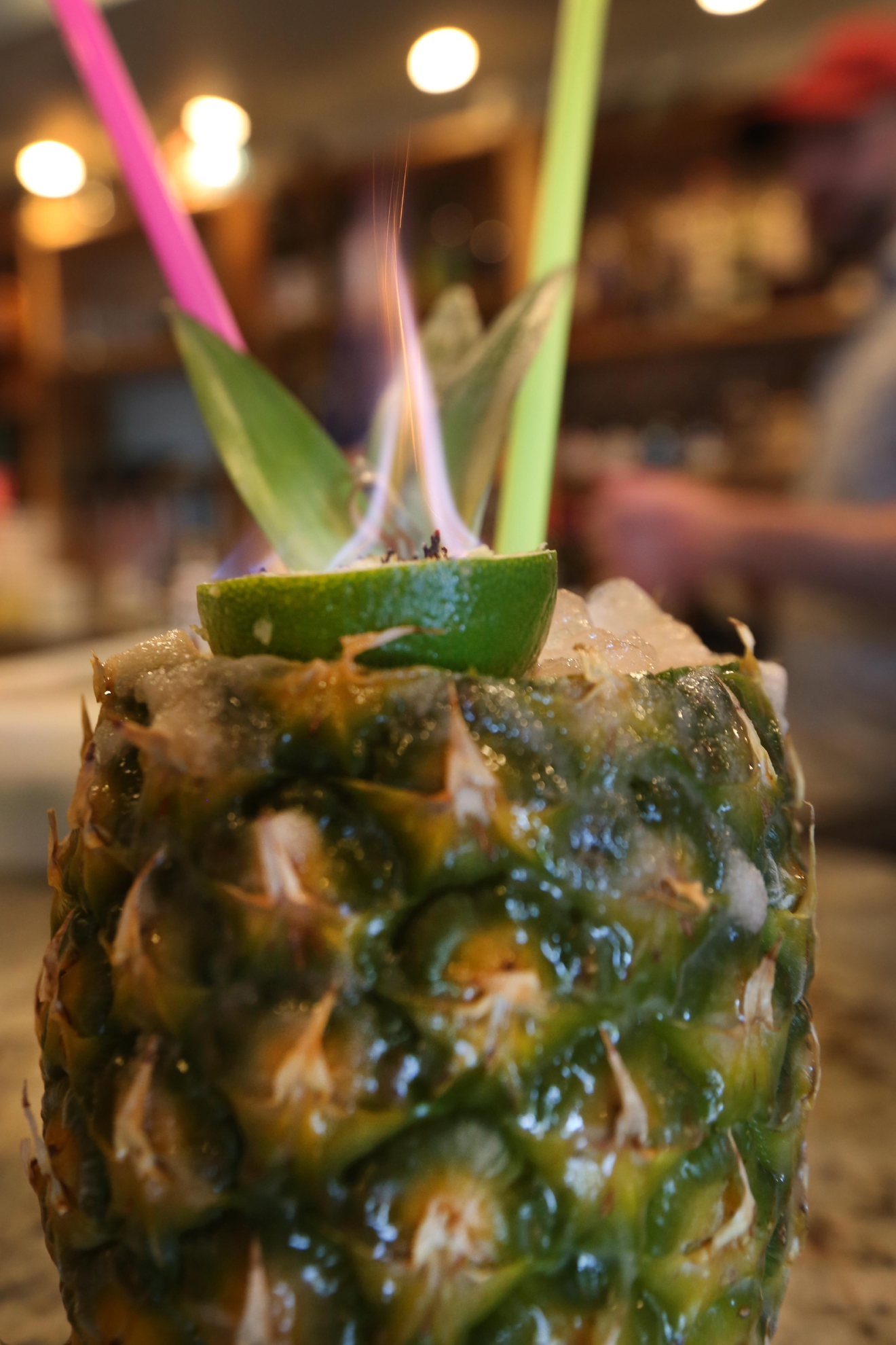 "Reed also said he usually order a the piña colada – ""served from a slushy machine."" (Amanda Andrade-Rhoades/DC Refined)"