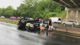 Asheville woman seeks good Samaritan who came to her aide after crash