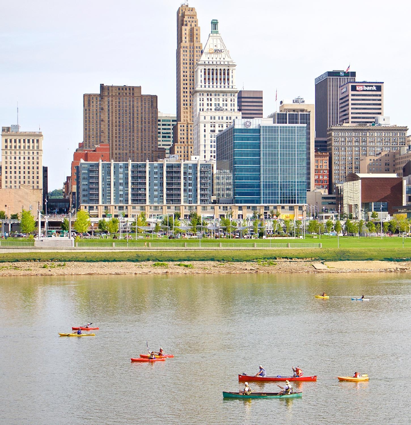 Ohio River Paddlefest took place on Saturday, August 6. / Image: Dr. Richard Sanders