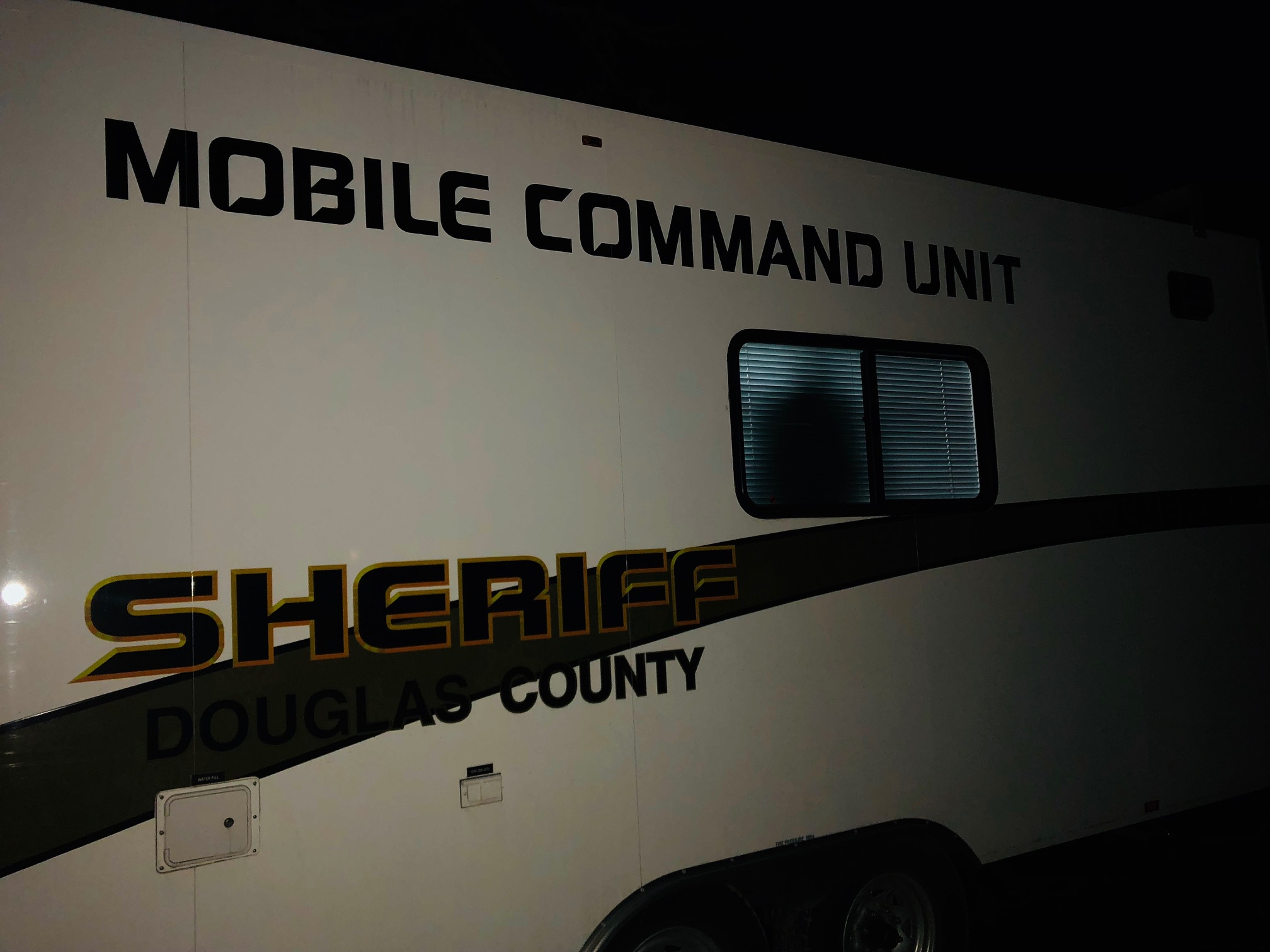 Douglas County Sheriff's Office Mobile Command Unit, March 15, 2018. (DCSO photo)