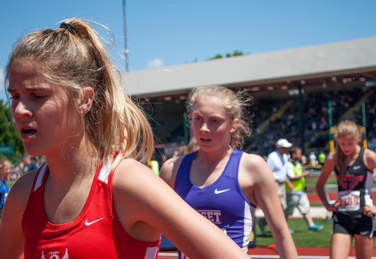 2017 OSAA Track and Field Championships at Hayward Field. Photo by Sheridan Kowta, Oregon News Lab