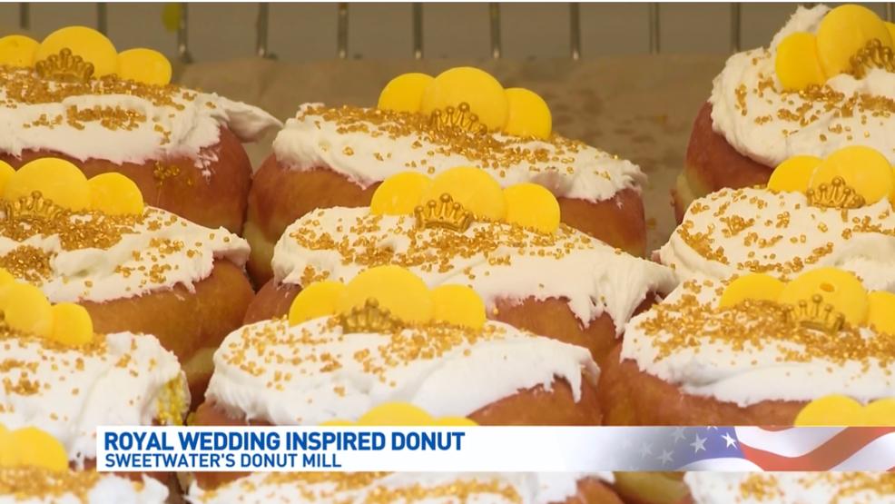 Local doughnut shop offering a special royal wedding treat   WWMT