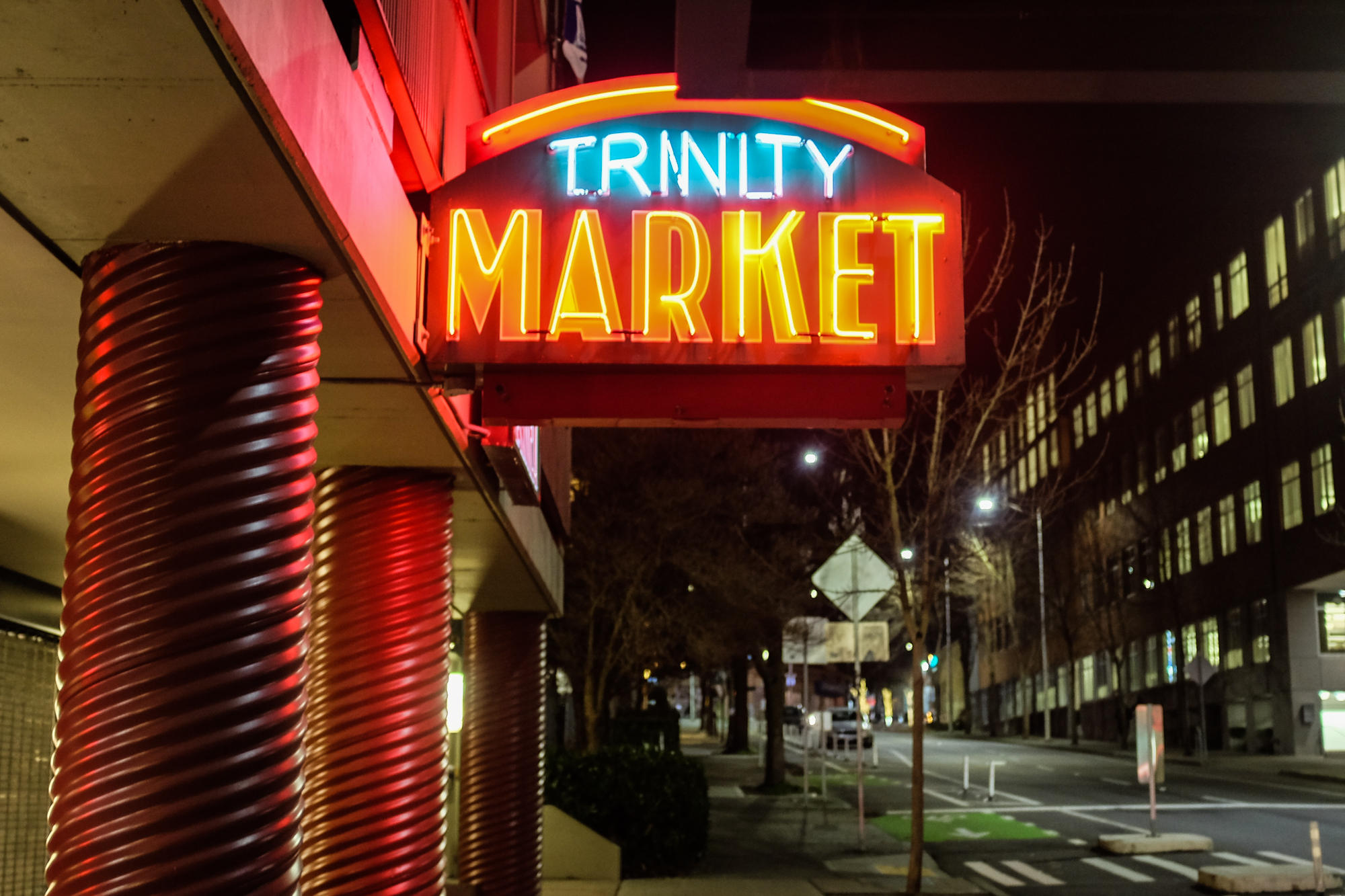 Trinity touts a large selection of specialty beer and wine, so if you're looking to get the party started, Trinity is the best spot in the neighborhood to pick up a thing or two for the pre-funk. (Photo: Chona Kasinger / Seattle Refined)