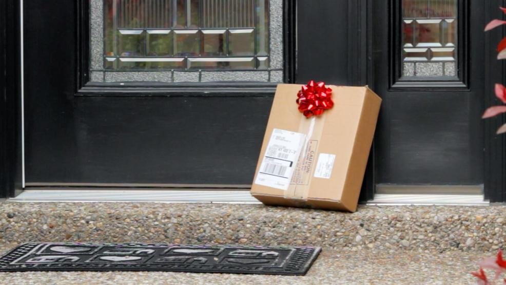 Packages left at the door are the perfect opportunity for thieves (KBOI Staff). & How to prevent being a victim of package theft this Christmas | KBOI