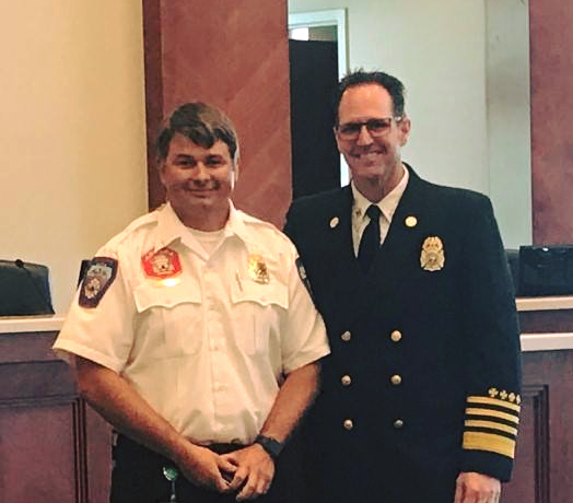 Matt Burchett worked in the training division of the Unified Fire Authority before taking a job as battalion chief for Draper City Fire. (Photo: KUTV)