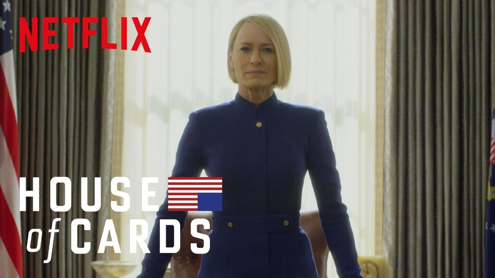 Robin Wright commands Oval Office in 'House of Cards' season 6 trailer