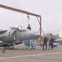 U.S Marine Corps Harrier Jets have yet to take off from Yakima Air Terminal