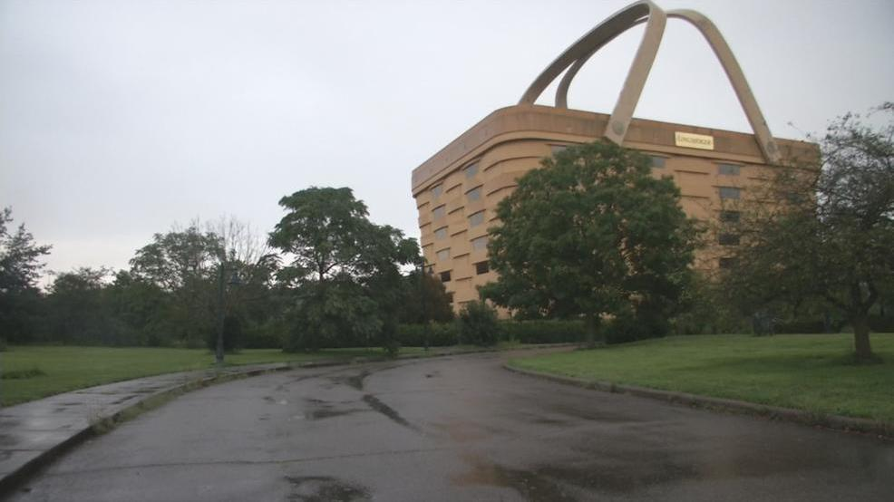 Good Iconic Longaberger Basket Building Vandalized