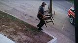 Bartlesville PD trying to identify man who stole patio chairs from business