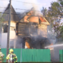 First responders, neighbors react to house fire ignited by fireworks in Kalamazoo