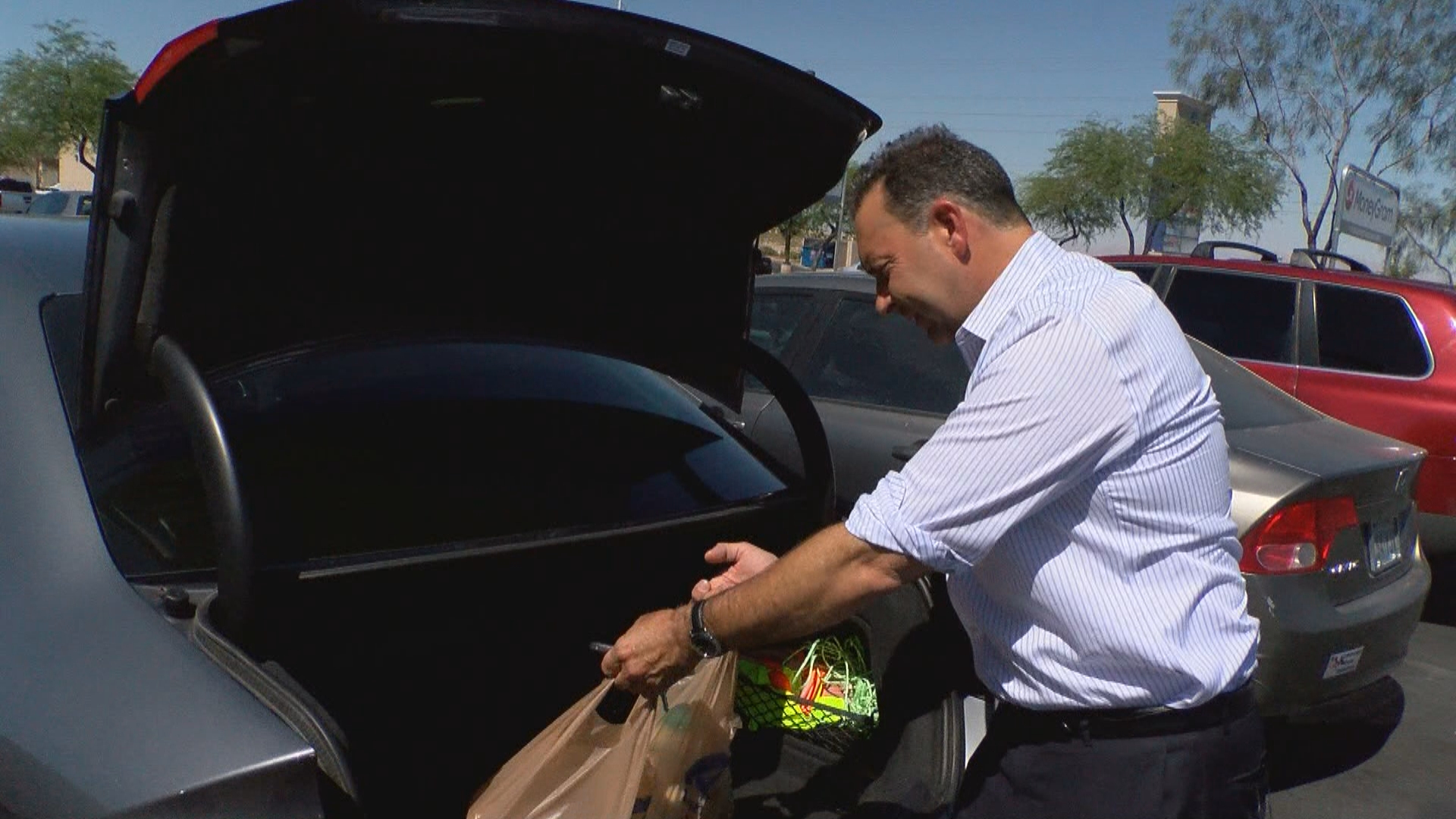 Food transport from a local warehouse could pose a potential health risk. (KSNV)