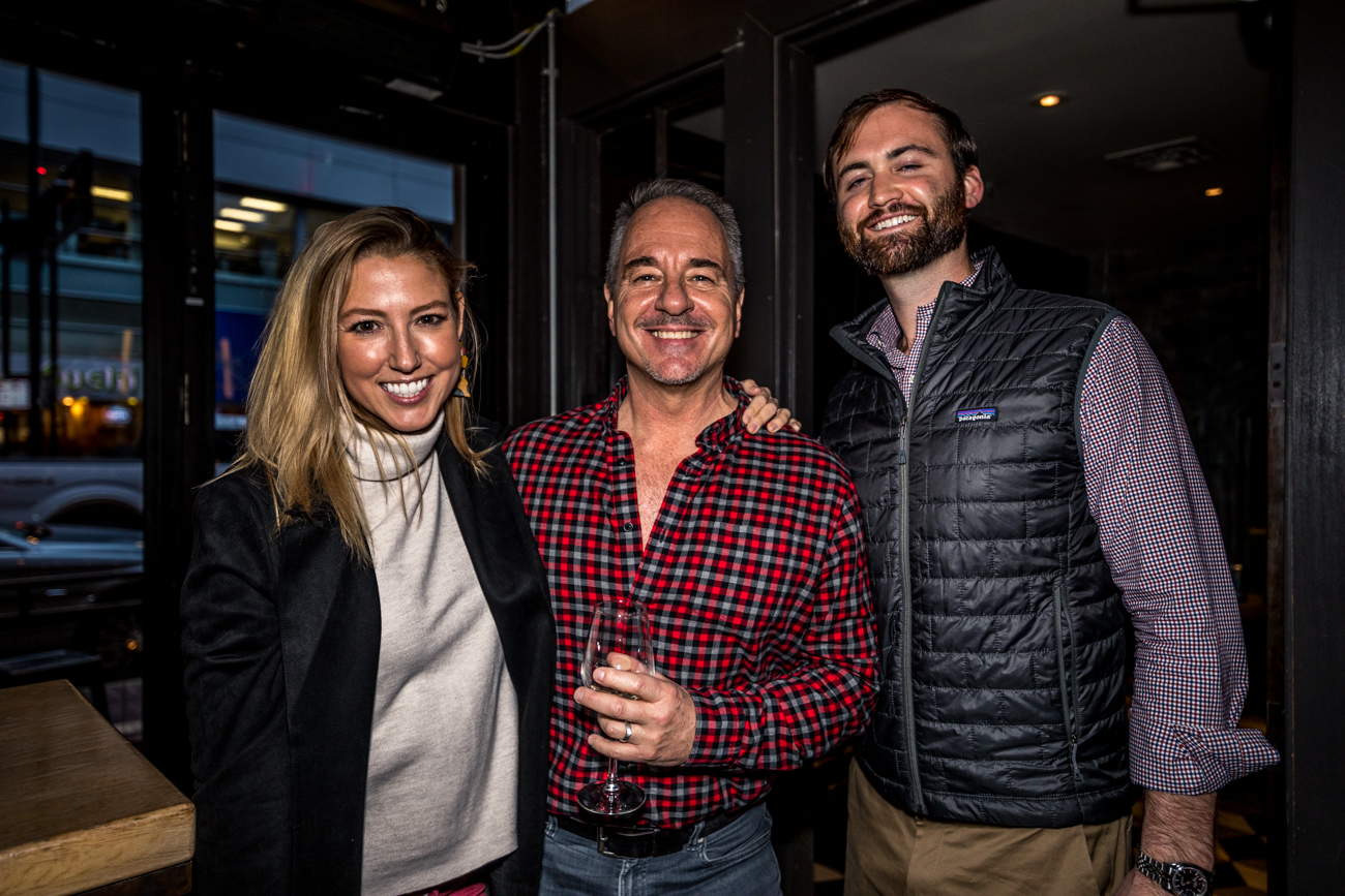 Lauren Cook, James, and Richard / Image: Catherine Viox{ }// Published: 12.2.19