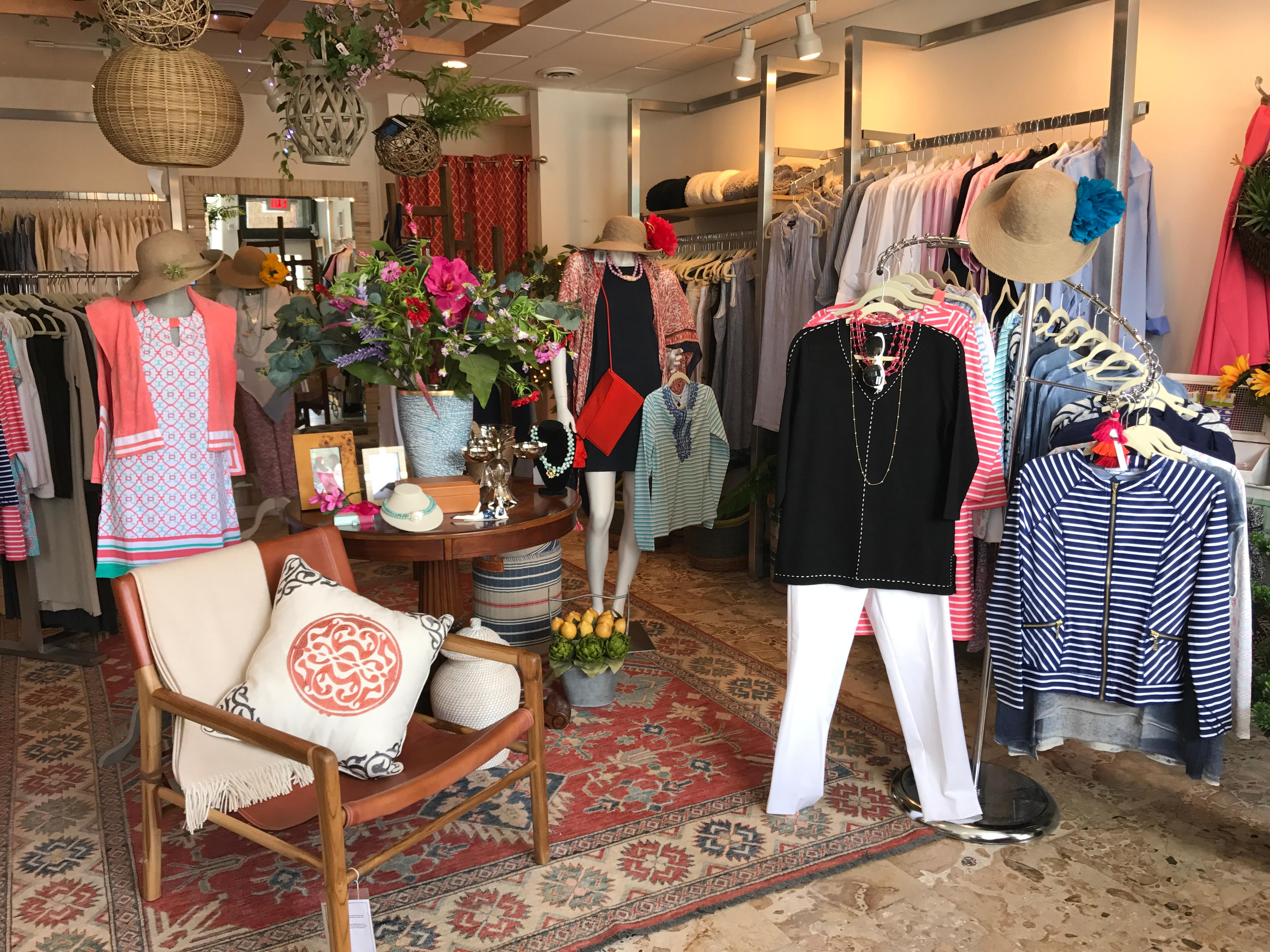 If you're looking to give your credit card a workout, check out some of the town's best shops, including new clothing and home goods boutique Alice and Laila. (Image: Courtesy Alice and Laila)