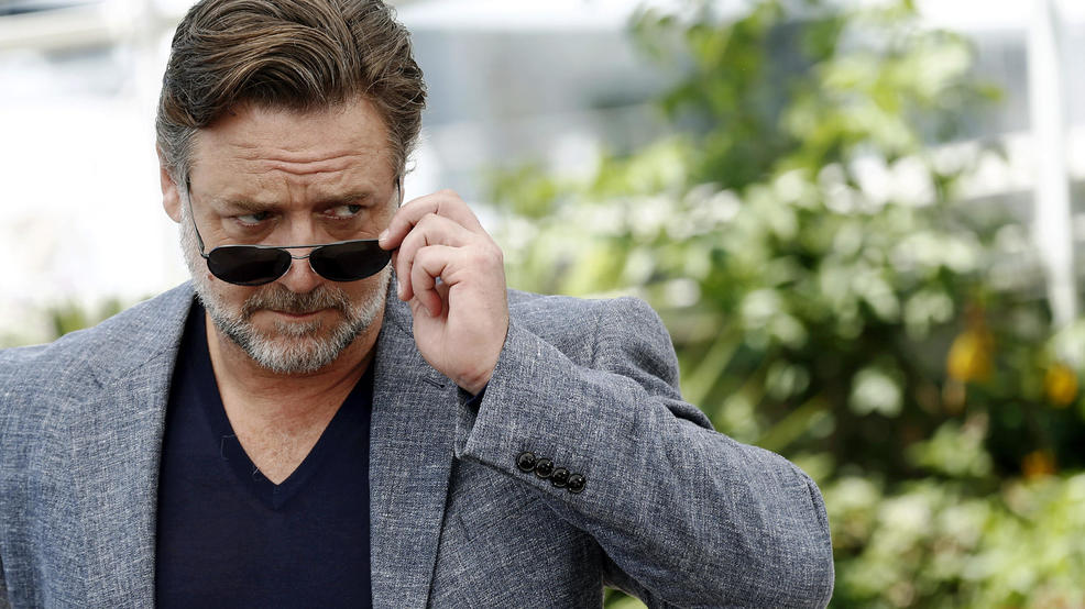 Russell Crowe is selling his jockstrap in a divorce auction