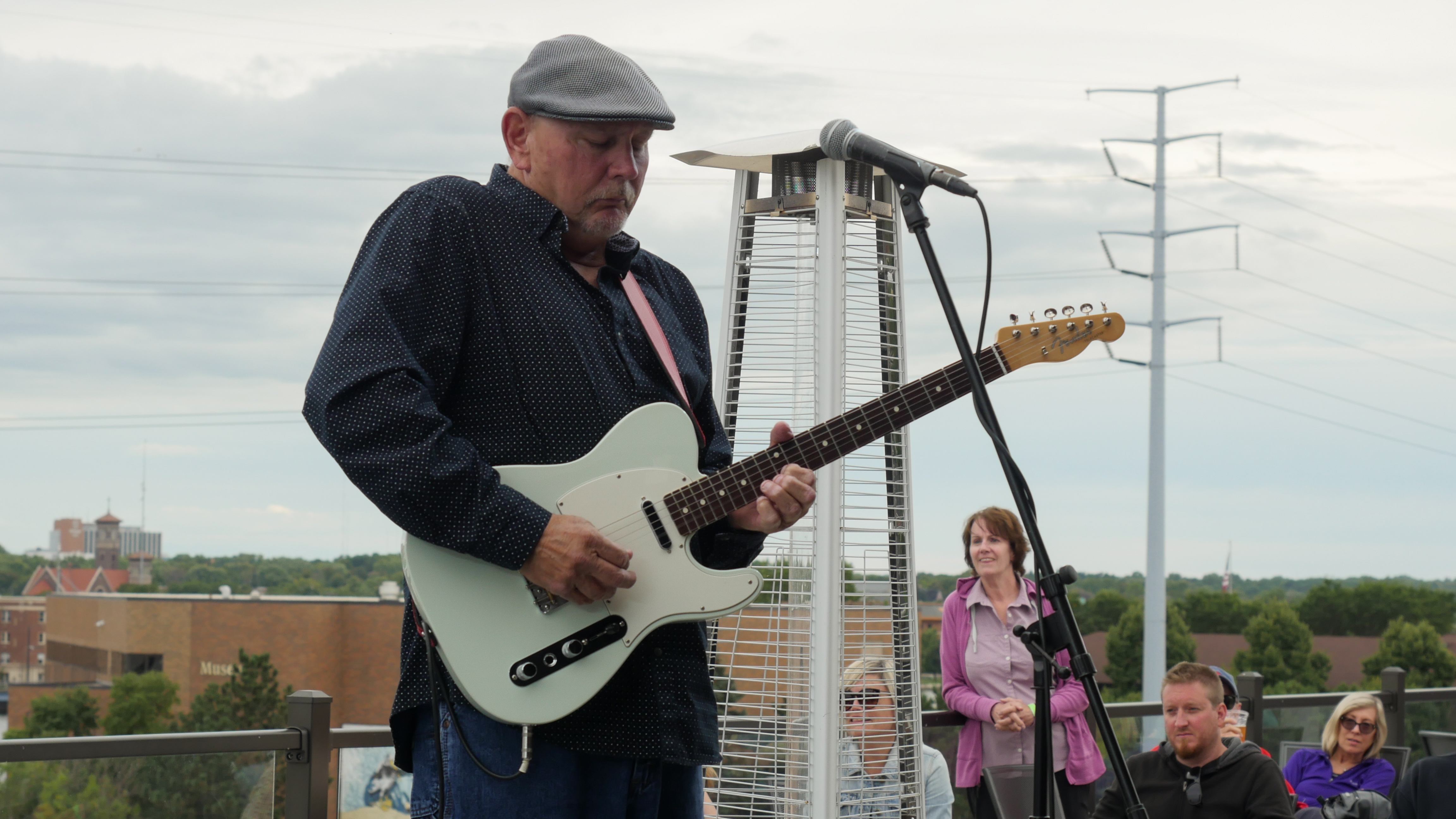Appleton's J-Council performing Hopeland Festival 2019 at Titletown Brewing Co.'s Rooftap in the Railyard District of downtown Green Bay, Saturday, September 7th, 2019 (WCWF/ Beni Petersen)<br><p></p>