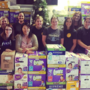 Oath Omaha employees collect nearly 19,000 diapers for Open Door Mission