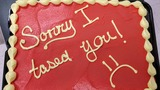 Officer gives firefighter apology cake: 'Sorry I tased you'