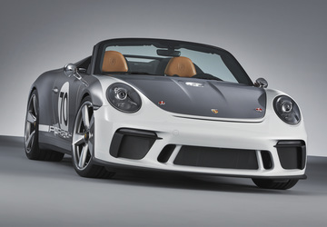 Porsche reveals 911 Speedster concept to celebrate 70th anniversary